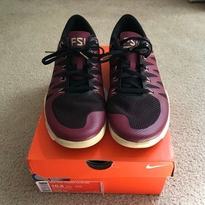 best website 84f22 8c014 Brand New FSU Nike Trainer 5.0 Shoes NWT